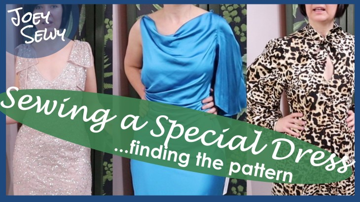 sewing a special dress - pattern - thumbnail