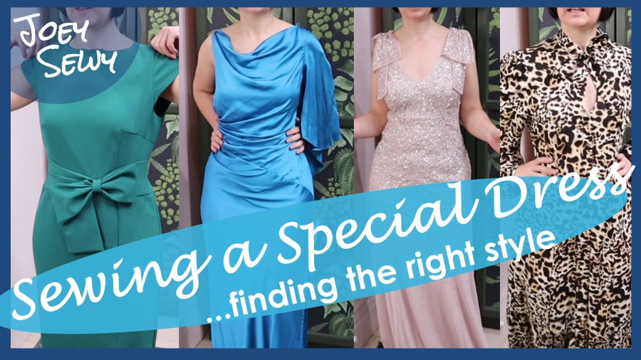 Sewing a Special Dress – finding the right style